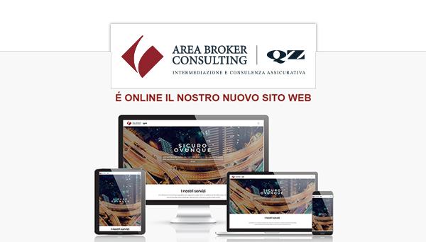 Online il nuovo sito Area Broker & QZ Consulting