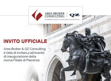 Apertura nuova Filiale di Piacenza – Partecipa all'evento di inaugurazione