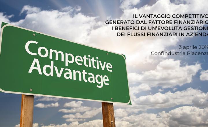 """Programma dell'evento: """"Il vantaggio competitivo generato dal fattore finanziario"""""""