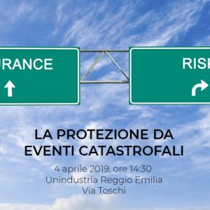 """Programma dell'evento: """"Come proteggere l'azienda da eventi catastrofali"""""""