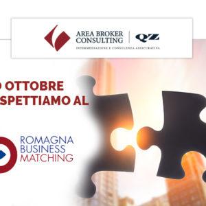 Area Broker è Sponsor di Romagna Business Matching 2019